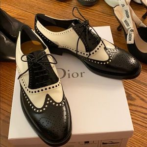Dior Matte calfskin leather shoes